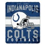 Indianapolis Colts Football Established 1953, Fleece Throw Blanket